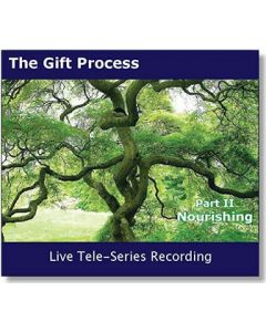 Gift Process Part II - RECEIVE  - Live Tele-Series MP3 - Recorded January 2012 - Self Discovery Through Self-Nourishment