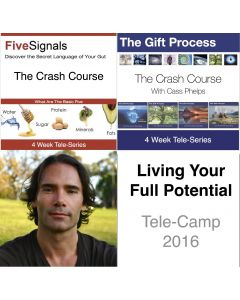 LIVING YOUR FULL POTENTIAL - 4 Week Tele-Camp - Includes 2 Tele-Series - MP3 Recorded Live 2016